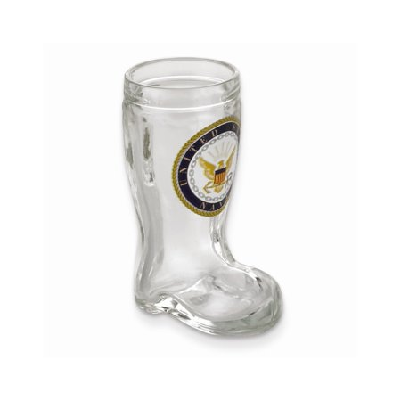 US Navy Mini Boot Shot Glass - Etching Personalized Gift Item