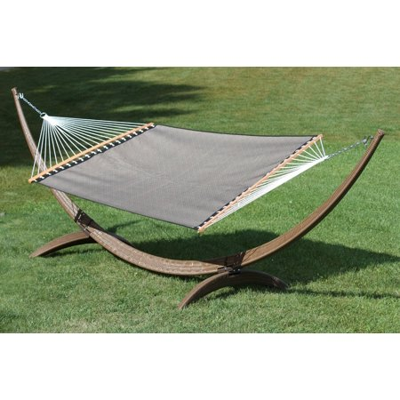 15ft Arc Hammock Stand - Wicker Rattan