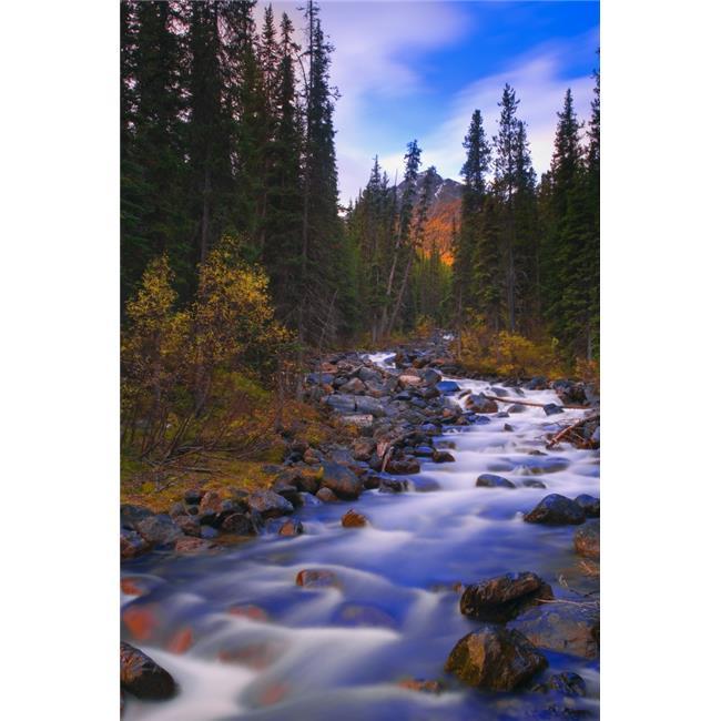 Posterazzi DPI1809509 Moraine Creek Banff National Park Alberta Canada Poster Print by Carson Ganci, 11 x 17 - image 1 of 1