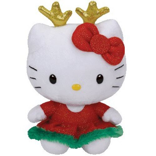 Ty Hello Kitty Reindeer Ears by TY Inc