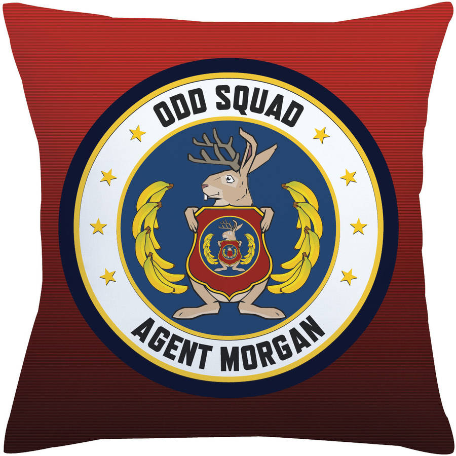 Personalized Odd Squad Headquarters Seal Throw Pillow
