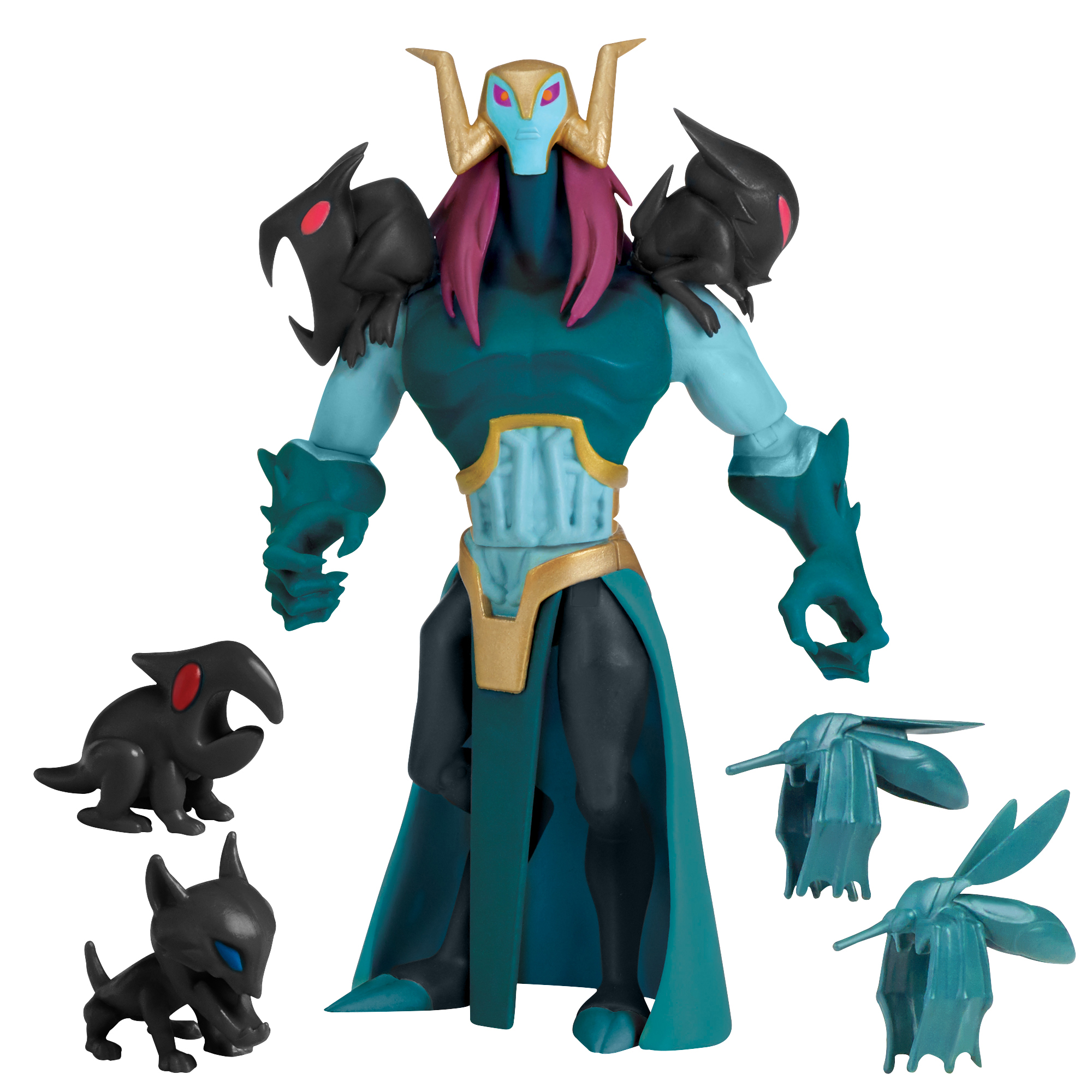 Rise of the Teenage Mutant Ninja Turtle Baron Draxum Action Figure