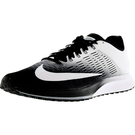 reputable site afd7f 4a4f3 Nike - Nike Mens Air Zoom Elite 9 Black  White-Stealth Ankle-High Running  Shoe - 10M - Walmart.com