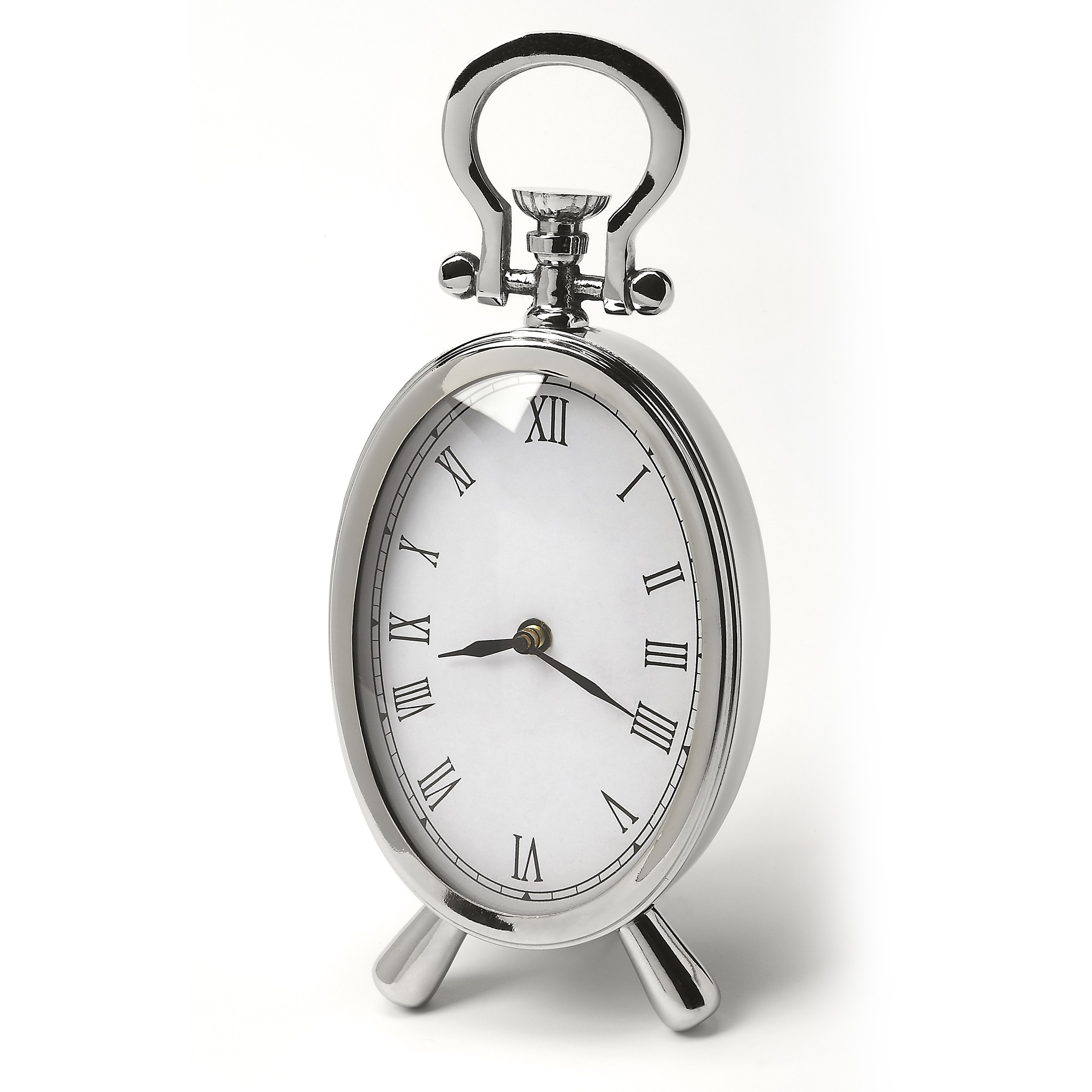 Butler Hors D Oeuvres Constance Desk Clock by Butler Specialty
