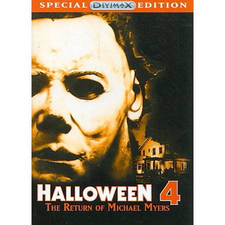 Halloween 4: The Return Of Michael Myers (DVD) - Halloween Michael Myers Movies