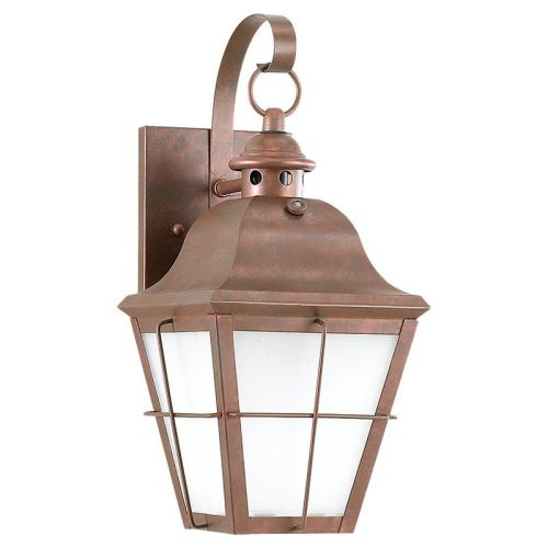 Sea Gull Lighting 89062BLE Chatham 1 Light Outdoor Lantern Wall Sconce