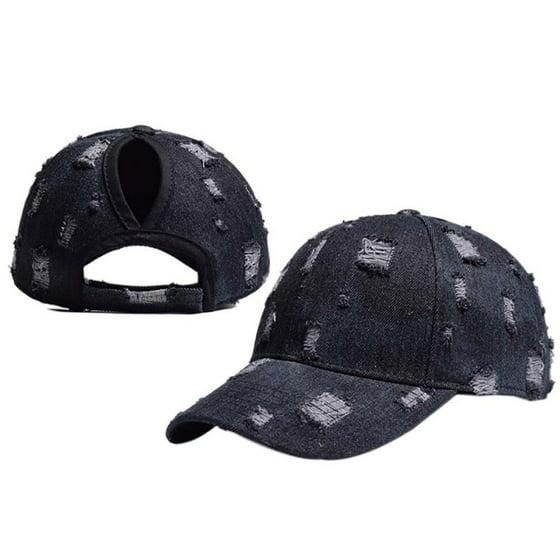 d8fc069f0a1 Tommyfit Cotton Adjustable Ponytail Baseball Cap - Walmart.com