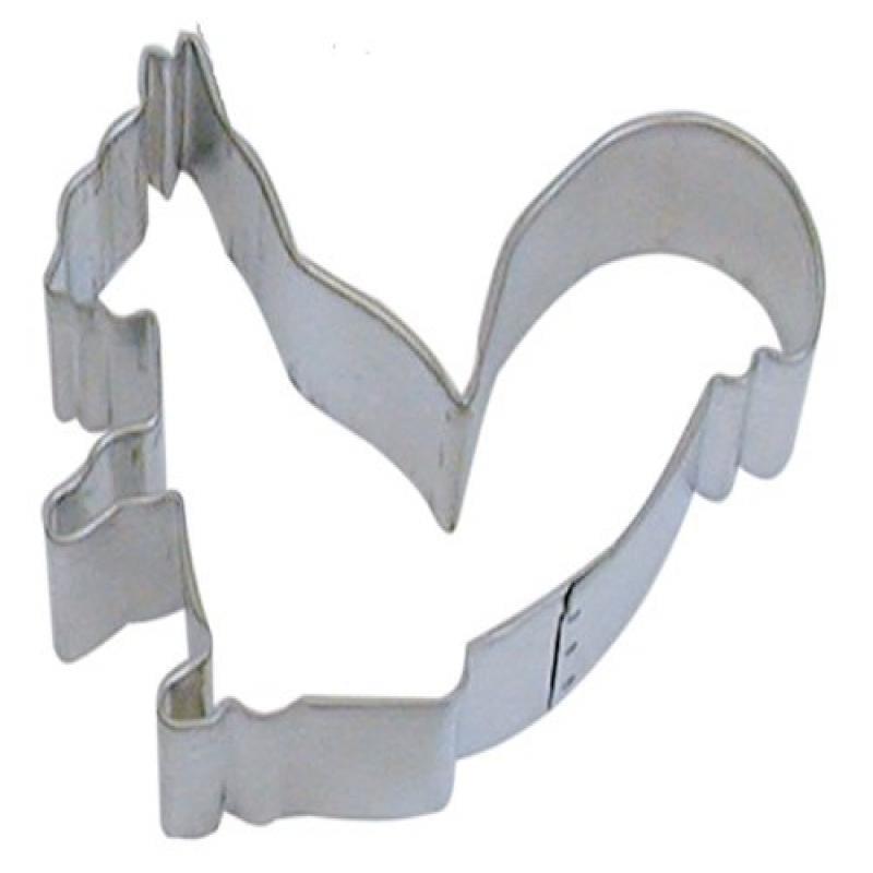 R&M Cookie Cutter, 3.75-Inch, Squirrel, Tinplated Steel