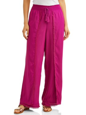 cec0620f720452 Product Image Women s Fray Edge Long Pant