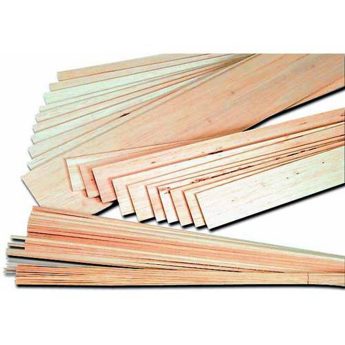 "School Specialty Balsa Strip, 0.13"" x 0.13"" x 36"", 36pk"