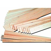 School Specialty Balsa Strip, 1/8 x 1/8 x 36 Inches, Pack of 36