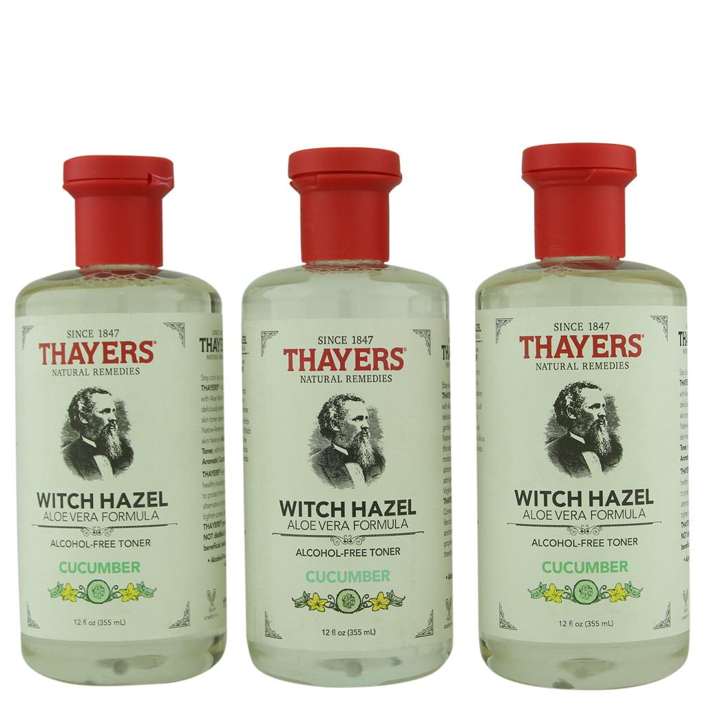 Thayer's Alcohol-Free Cucumber Witch Hazel Toner 3 ct 12 oz