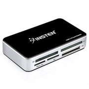 Insten USB 3.0 All-in-1 Multi Memory Card Reader For SD/SDHC/Micro SD/Compact Flash/MS/MS Pro/XD (with USB 3.0 Cable)