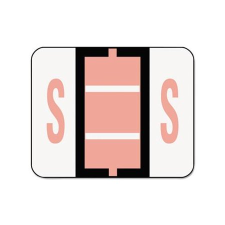 Smead Bccr Bar (Smead 67089 Pink BCCR Bar-Style Color-Coded Alphabetic Label - S SMD67089 )