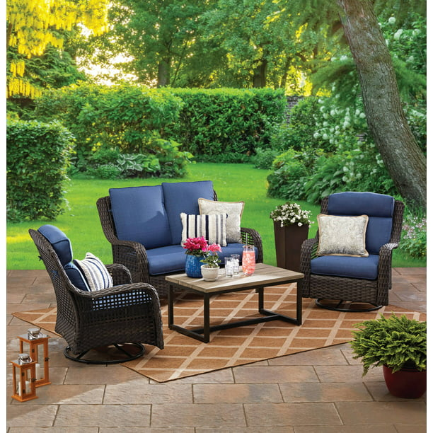 Ravenbrooke 4 Piece Patio Furniture