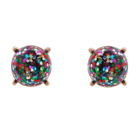 a938c88a7 Humble Chic NY - Faceted Glitter Round Stud Earrings Cushion Cut Statement  Post Ear Studs, by Humble Chic NY - Walmart.com