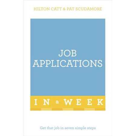 Job Applications In A Week - eBook