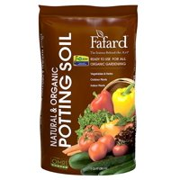 Fafard Natural And Organic Potting Soil, 1 Cu-Ft, Bag