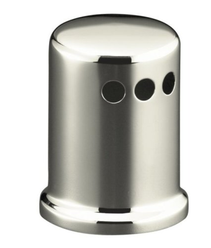 Kohler K-9111-SN Air Gap Cover with Collar, Vibrant Polished Nickel