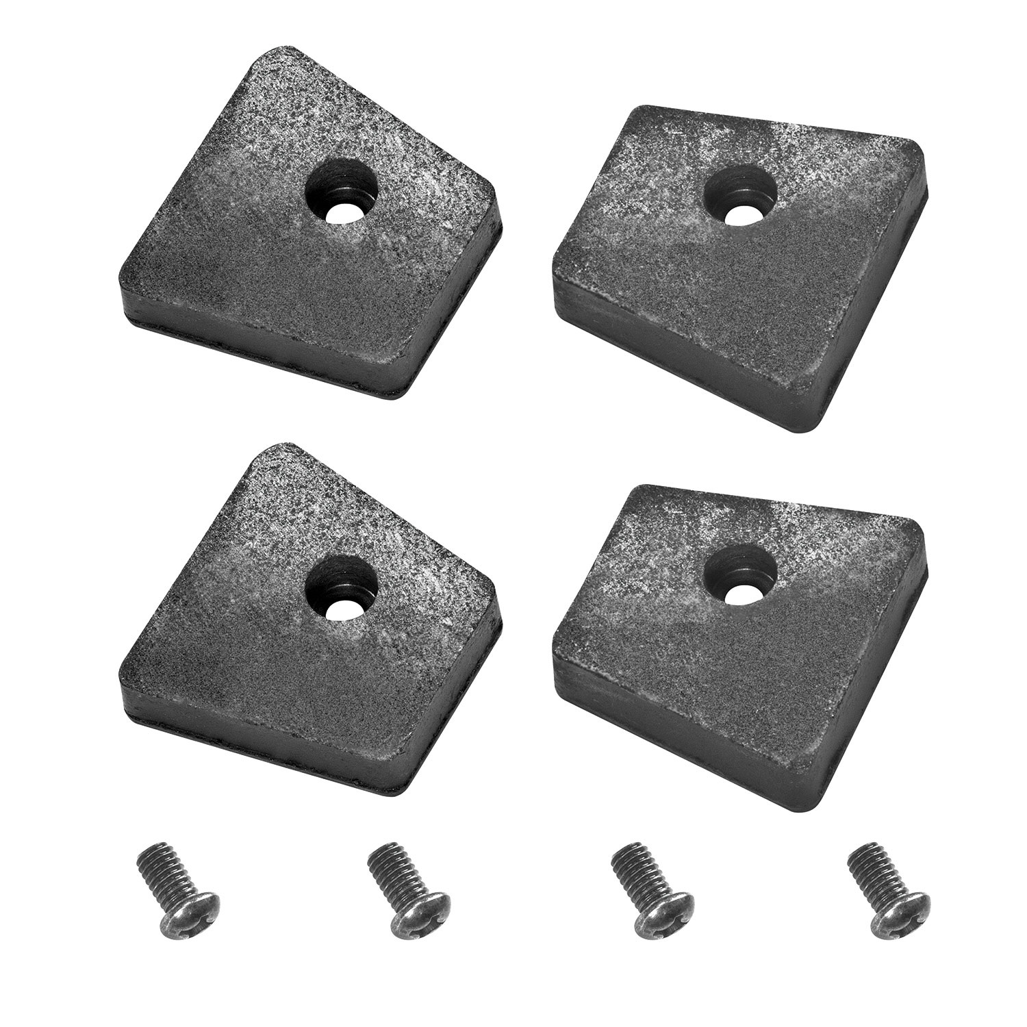 Replacement Part-Reese Sc Friction Pads with Screws Replacement Auto Part, Easy to Install