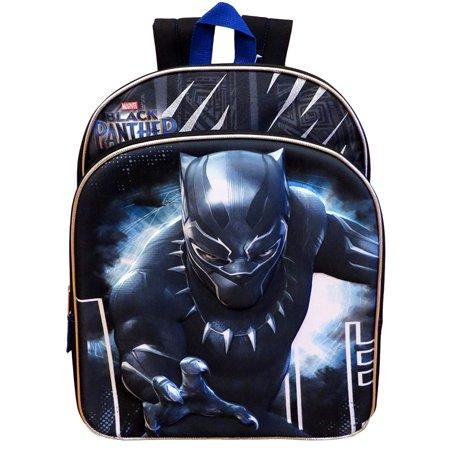 Boys Black Panther 3D Molded 16