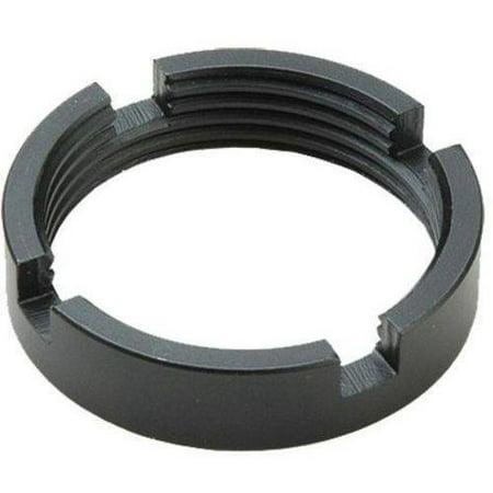 Advanced Technology A5101020 Ar 15 Castle Nut Steel  Black
