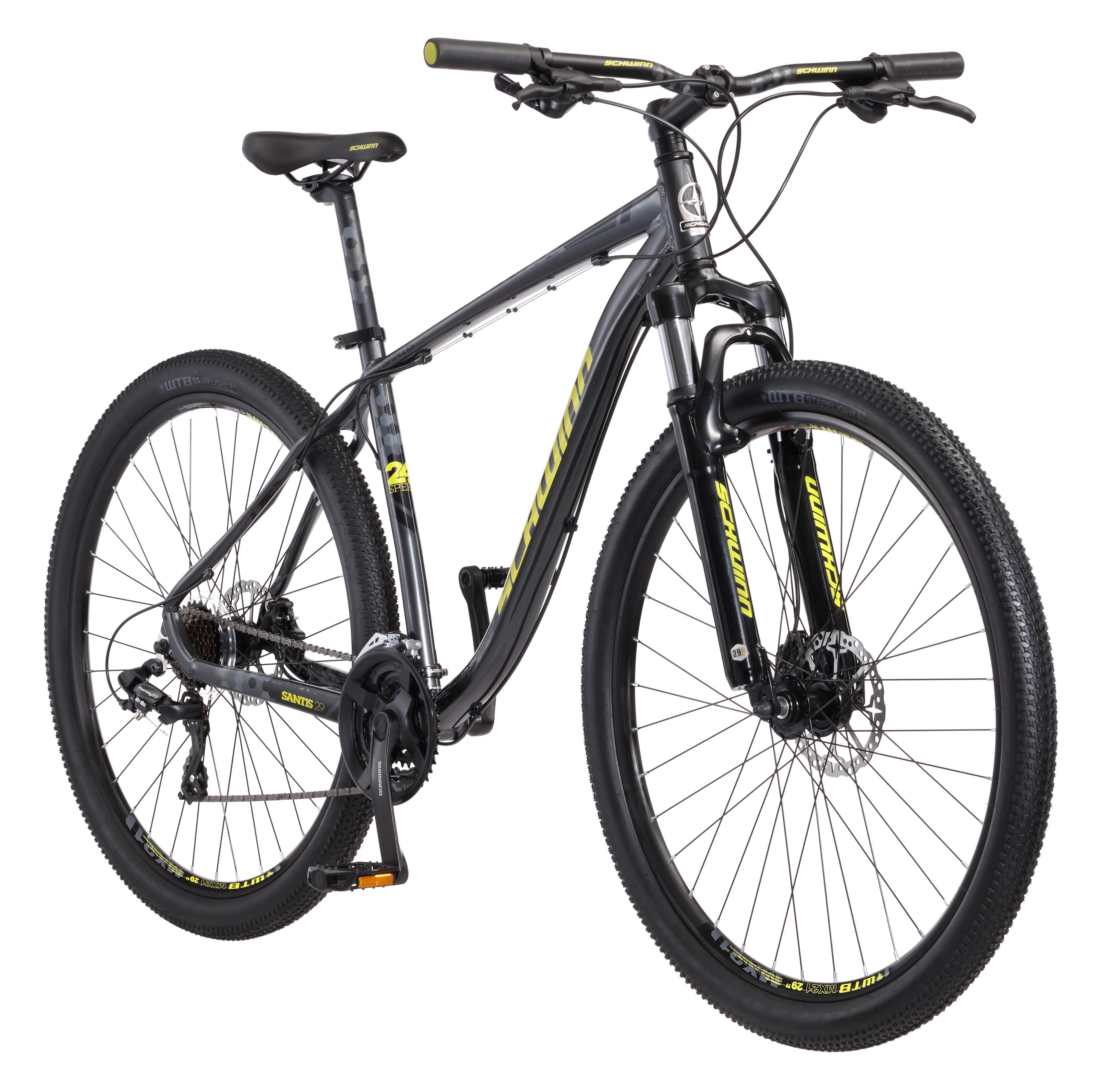 """29"""" Men's Schwinn Santis Mountain Bike, Matte Grey by Pacific Cycle"""