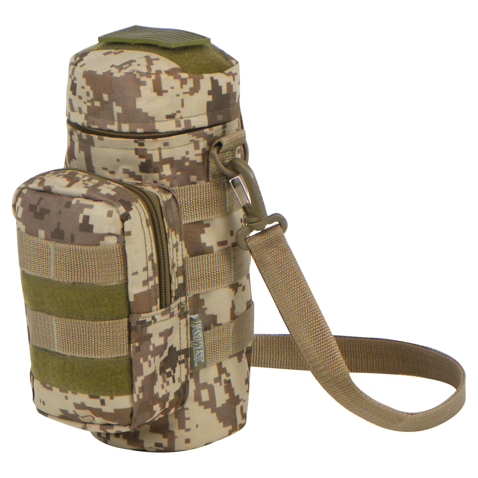 East West U.S.A. Tactical Molle ACU Water Bottle Pouch & Military Gear Bag