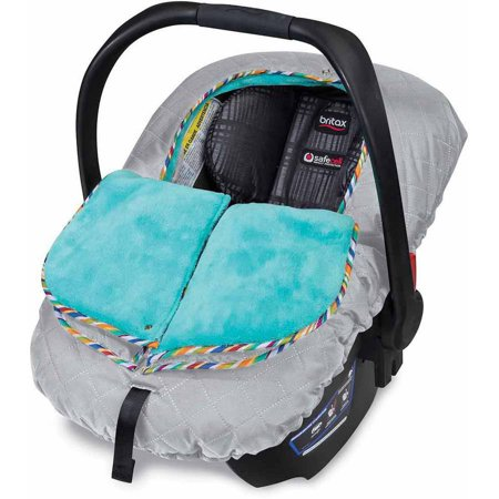 Britax B-WARM Insulated Infant Car Seat Cover, Arctic Splash