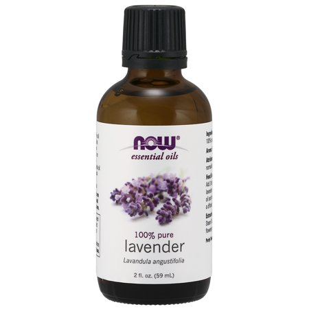 NOW Essential Oils, Lavender Oil, Soothing Aromatherapy Scent, Steam Distilled, 100% Pure, Vegan,