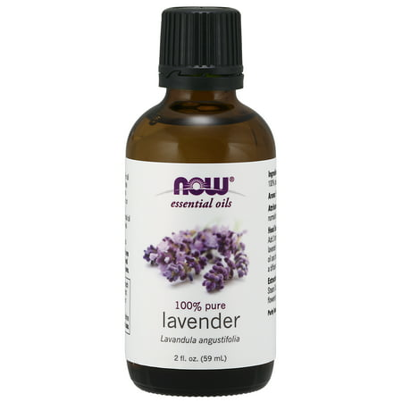 NOW Essential Oils, Lavender Oil, Soothing Aromatherapy Scent, Steam Distilled, 100% Pure, Vegan, 2-Ounce - Lifestyle Essential Oils