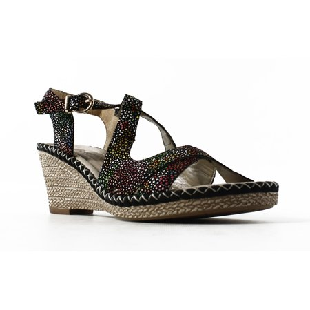 269e3436 Remonte - New Remonte Womens D6739-004 BlackMulti Sandals Size 6 -  Walmart.com