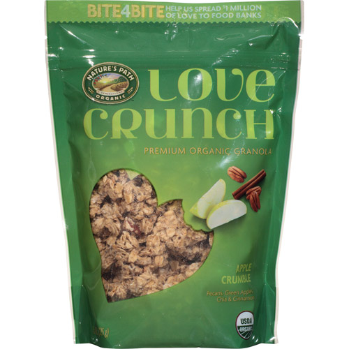 Nature's Path Organic Love Crunch Apple Crumble Granola, 11.5 oz, (Pack of 6)