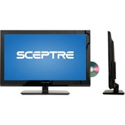 "Sceptre 32"" Class LED 720p 60Hz HDTV(2.35"" ultra-slim) with Built-in DVD Player, E325BD-M, Black"