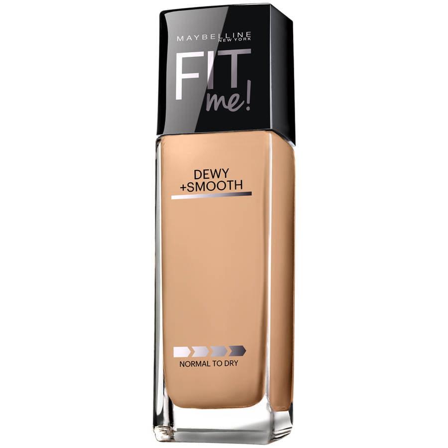 Maybelline; Fit Me; Dewy + Smooth Foundation, SPF 18, 1.0 fl oz