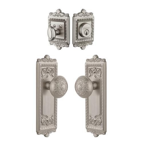 Grandeur Windsor Keyed Door Knob