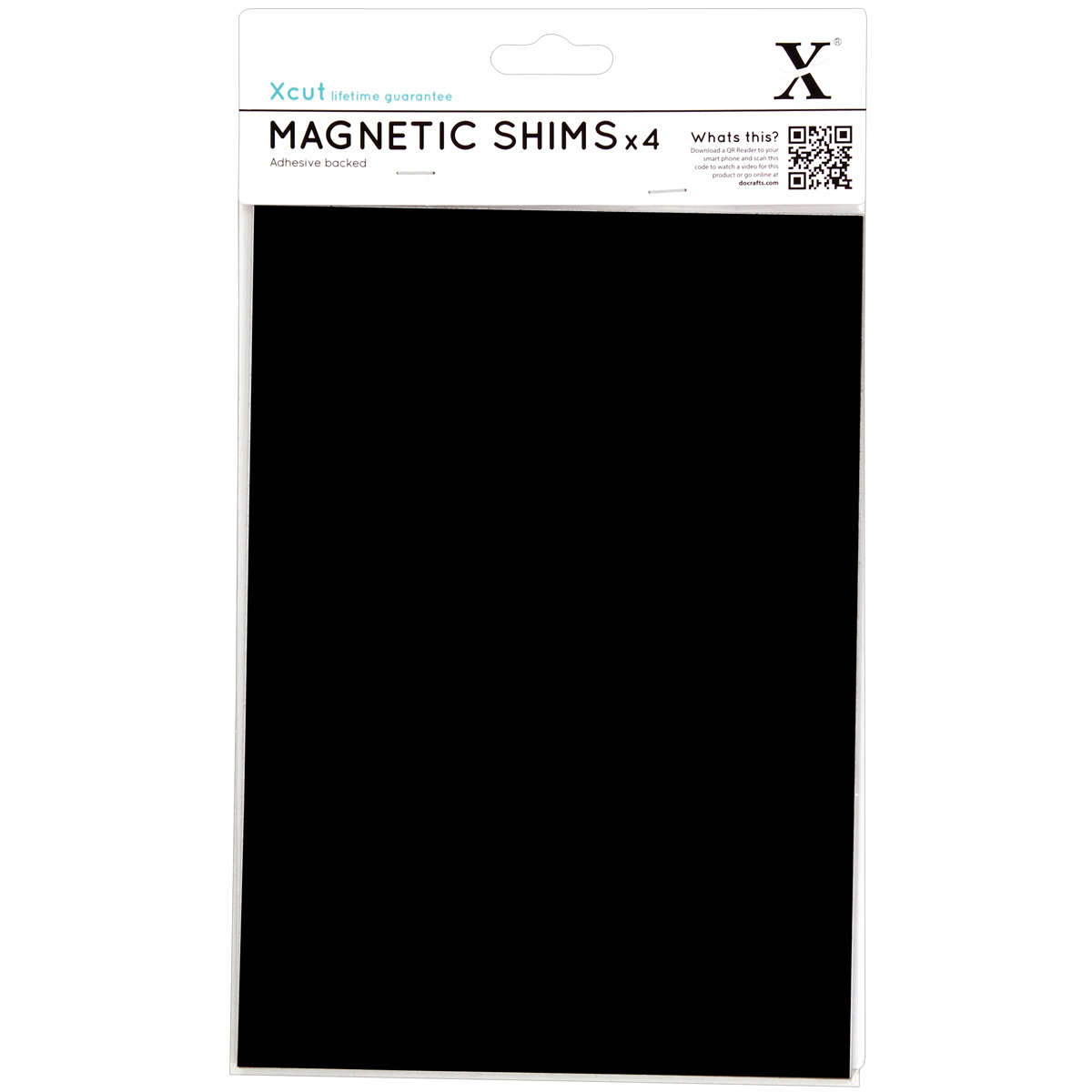 Docrafts Xcut Duo Cutting Mat Black And White A5