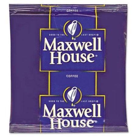 GFIC Coffee Filter Packs Regular .7Oz 100 Carton by Maxwell House