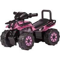 Honda Pink HD Camo Utility ATV Ride-On