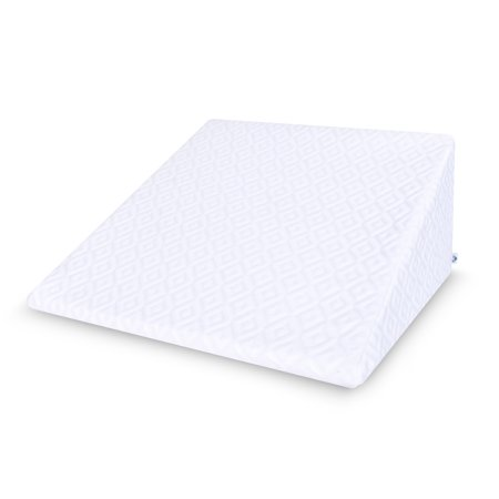 """PharMeDoc Bed Wedge Pillow - Orthopedic Pillow for Acid Reflux & Pain - Elevating Leg Rest - (25"""" x 24"""" x 12 inches)"""