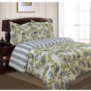 Divatex Home Fashions Printed Waterflower Bedding Duvet Mini Set