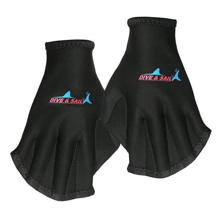 Swim Gloves Aquatic Fitness Webbed Gloves Water Resistance Training for Men Women