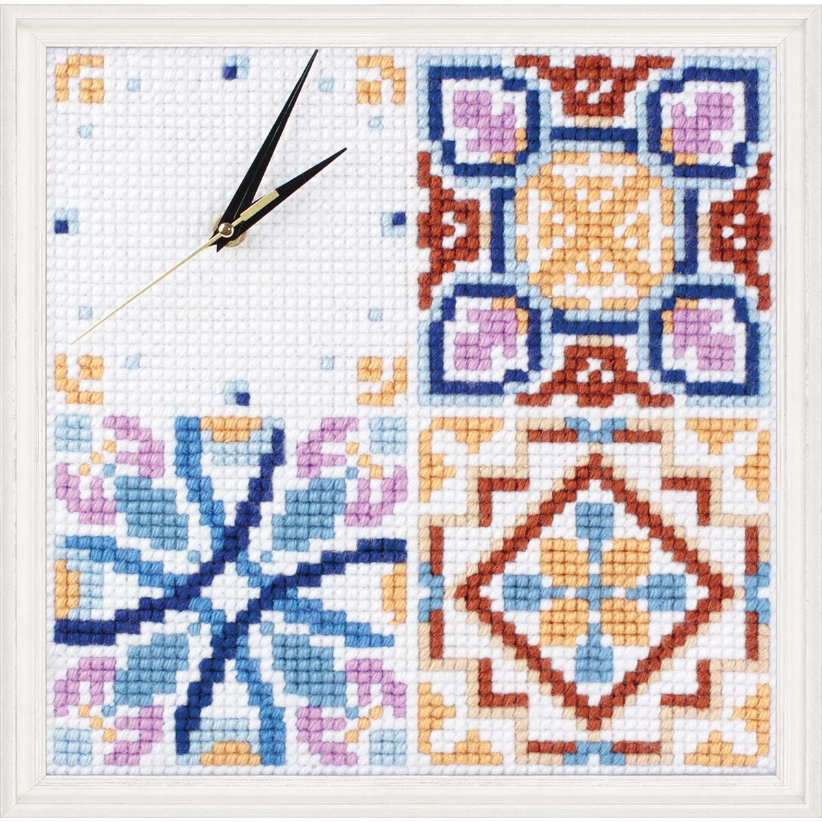 Collection D'Art Majolica Clock Needlepoint Kit
