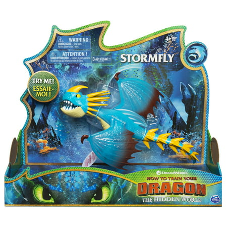 Stormfly Dragon (DreamWorks Dragons, Stormfly Deluxe Dragon with Lights and Sounds, for Kids Aged 4 and)