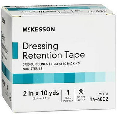 Dressing Retention Tape (McKesson Dressing Retention Tape Roll 2 in x 10 yds)