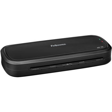 Fellowes M5-95 9.5; Laminator with Assorted Laminating Pouches Value Bundle
