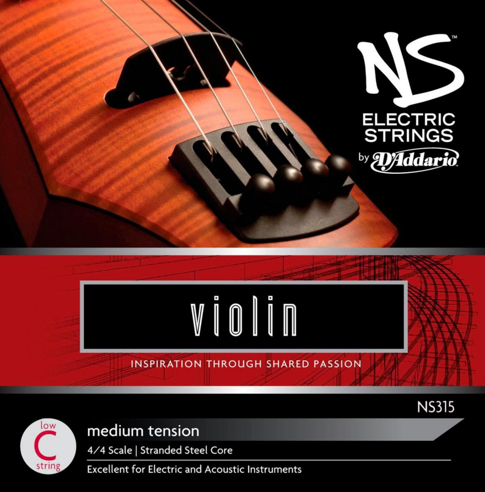 D'Addario NS Electric Violin String Low C by D'Addario