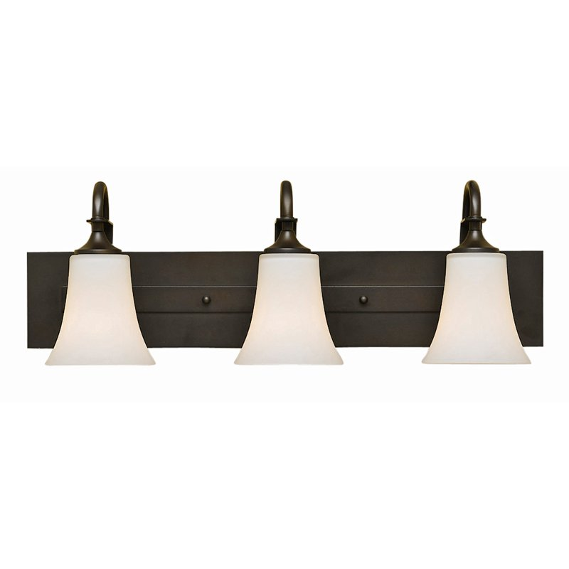 Feiss Barrington Bathroom Wall Light 24W in. Oil Rubbed Bronze by Murray Feiss