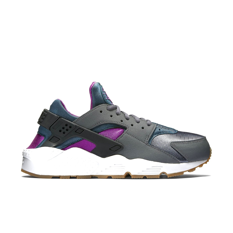 Nike Women's Air Huarache Run Running Shoe-Dark Grey/Teal...