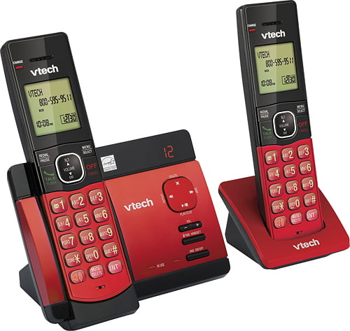 VTech - CS5129-26 DECT 6.0 Expandable Cordless Phone ...